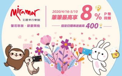 美麗華百樂園 歡慶開 Pi 💃最高享 8%P幣回饋   區間回饋最高送 400 P幣 (活動已結束)